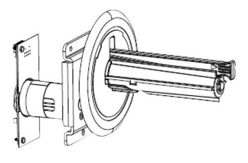 Kit Liner Take-Up Spindle & Motor/Board Assembly ZT410 | P1058930-052