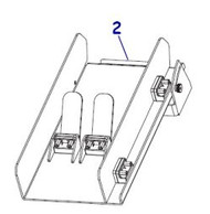 P1083347-033 | Catch Tray for Cutter ZT510 | P1083347-033