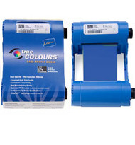 Zebra iSeries blue monochrome ribbon cartridge for P1xx printers, 1000 images | 800015-904