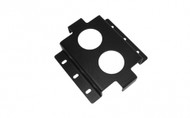 Mounting Bracket Assembly for the LIND Power supply (to a flat surface) - 7160-0936