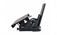 "Tablet Display Mount Kit with 6"" Locking Slide Arm. Kit includes (Tablet Display Mount 7160-0494, 6"" Locking Slide Arm 7160-0514, Quick Release Keyboard Tray 7160-0498, and Mongoose clevis 7110-1008). - 7170-0217"