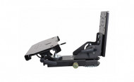 Tablet Display Mount Kit with Mongoose Motion Attachment. Kit includes (Tablet Display Mount 7160-0494, Mongoose 7160-0220, and Quick Release Keyboard Tray 7160-0498). - 7170-0218