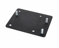 Interface plate. VESA 75 studs to GJ 2 x 4 pattern. Use to mount a device with VESA 75 studs to a motion attachment with 2 x 4 hole pattern. - 7160-0794