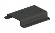 The flat surface mount is designed specifically for the Linde H70/80D cab or other mounting surfaces. It offers easy installation and durability for mounting your computer or device - 7160-1105
