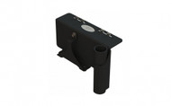 The cab door bracket is designed for Yale/Hyster forklift cabs and leverages the door as a mounting area for your computer, barcode scanner or display. You can use any Gamber-Johnson upper pole along with a Motion Attachment to secure your entire computer mounting system. It comes with hardware that holds a Linde power supply. Upper poles and Motion Attachments are not included - 7160-0991