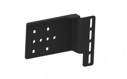 The cab bracket is designed for forklift cabs with Manual Hydraulic levers. It has slotted attachment spaces for flexibility of positioning. - 7160-1233