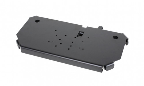 Quick release keyboard tray - mounts on a clevis - 7160-0498