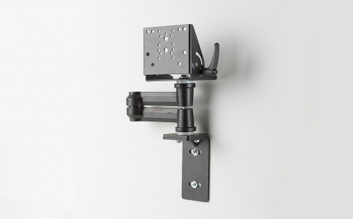 Kit includes dual articulating arm with low Clevis (7160-0977) and wall bracket (7160-0863) - 7170-0583-01