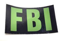 FBI IR Placards