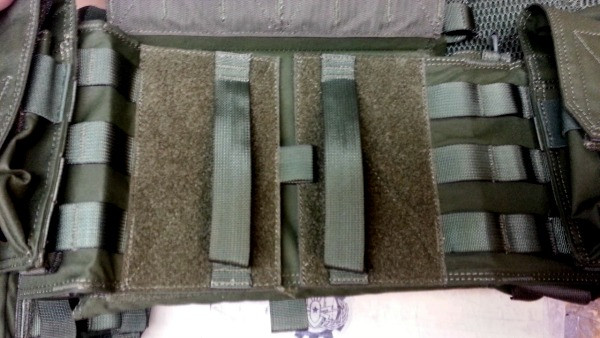 Waist Strap under chest mounted ammo mags