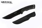 "15"" Wartech USA Tactical Knife Black Blade with Sheath"