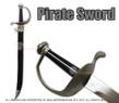 "Pirate Cutlass Sword with Hard Scabbard 30"""