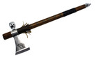 "18"" Tomahawk with Functional Smoking Tabacco Peace Pipe"