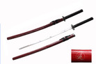 "40 1/2""  Reverse Blade Red Samurai Sword"