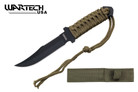 "Wartech USA 7.5"" Fixed Blade Tactical Survival Knife"
