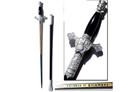 "35"" Knights of Columbus Sword with Scabbard Chrome"