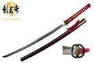 Kagemusha 1060 Carbon Steel Full Tang Japanese Katana Sword Musashi Tsuba with Certificate