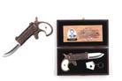 Poker Player Game Card Pocket Pistol Folding Gun Knife