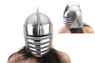 Medieval Knight Helmet: Italian Armor Costume - One Size Fits Most