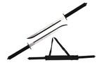 """26"""" Full Tang Two Tone Blade Ninja Twin Sword with Sheath"""