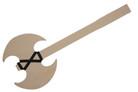 "Wooden axe 21"" X 9"""