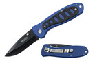 "Wartech 8"" Blue Folding Pocket Knife"