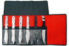 12 PC Complete Variety Jumbo Throwing Knife Set with Roll Case - 9 Inch Knives
