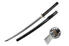 Onikiri Full Tang Blade Samurai Katana Sword with Real Rayskin and Sword Bag - Bamboo