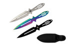 "3pc Set Aero Blades 6.5"" Throwing Knives Tarantula Series"