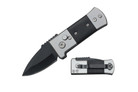"""2.5"""" Auto Knife with Black Wood Handle"""
