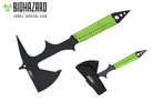 "15.5"" Biohazard Zombie Survival Tomahawk Axe"