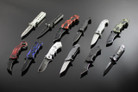 Assisted Opening Knives - 12 Pc Set FREE SHIPPING