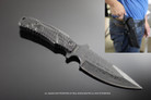 Tactical Knife Hunting Survival Knife with Belt Sheath 10 Inches
