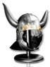 Conan Viking Helmet 18 Gauge Steel Medieval Costume Stage Prop w/ Liner