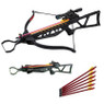 180LB Hunting Foldable Rifle Crossbow + 4X20 Scope + 7 Bolts/Arrows