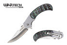 "8"" Wartech USA Assisted Open Knife with Mother Pearl Handle"