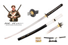 Kill Bill Full Tang Handmade Budd Katana Sword Signed By Michael Madsen