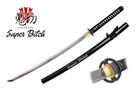 """Onikiri """"Super Bitch"""" Katana Sword with Musashi Tsuba - Black"""