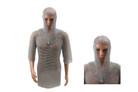 Chain Mail Haulberk Long Shirt Knight Armor SCA LARP