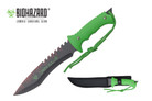 "13"" Zombie Killer Hunting Tactical Knife Serrated Blade with Sheath - H4733"