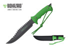 "13"" Zombie Killer Hunting Tactical Knife Serrated Blade with Sheath - H4731"
