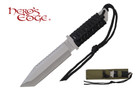 "11"" Tactical Hunting Knife with Fire Starter and Sheath"
