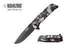 Biohazard Zombie Survival Gear Assisted Opening Rescue Pocket Knife - YCS9502SGY