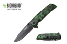 Biohazard Zombie Survival Gear Assisted Opening Rescue Pocket Knife - YCS9502SGN