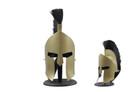 Leonidas 300 Helmet W/Plume, Gold