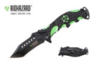 Biohazard Zombie Survival Knife Assisted Opening Rescue - YCS9036
