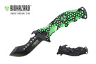 Biohazard Zombie Survival Knife Assisted Opening Rescue - YCS9037