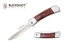 "8"" Buckshot Classic Assisted Open Knife With Wooden Handle - YCS8201WD"