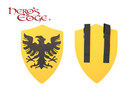 Foam Medieval Royal Crusader Eagle Foam Shield for Cosplay and Larp