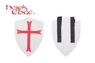Foam Medieval Crusader Red Cross Foam Shield for Cosplay and Larp